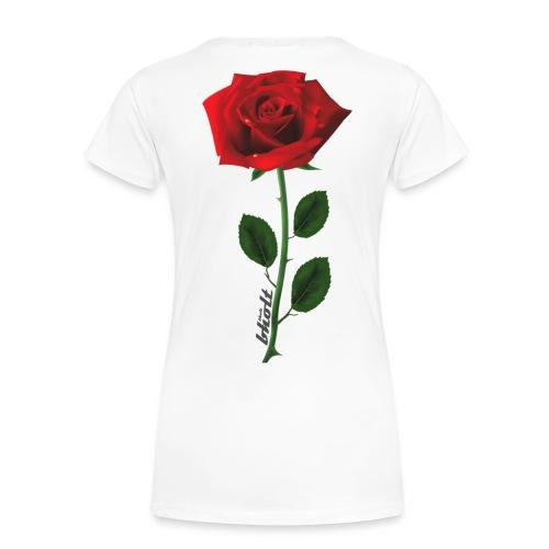 Rose 1 - Dame premium T-shirt