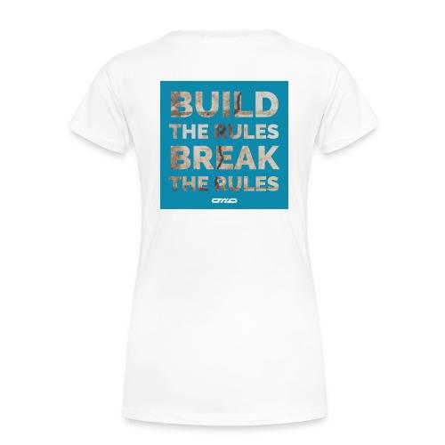 Rules Shirt blau - Frauen Premium T-Shirt