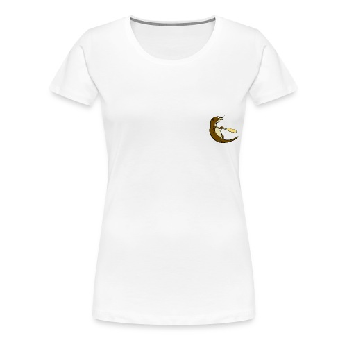 Song of the Paddle; Quentin classic pose Women's - Women's Premium T-Shirt