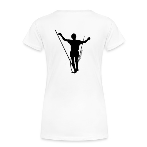 design2 breit - Frauen Premium T-Shirt