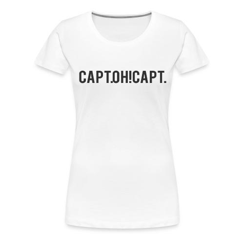 schriftzugshcwarz png - Frauen Premium T-Shirt