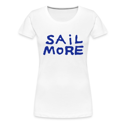 Sailmoreshirt Vorn - Frauen Premium T-Shirt