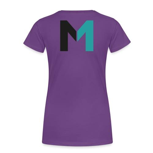 Logo M - Frauen Premium T-Shirt