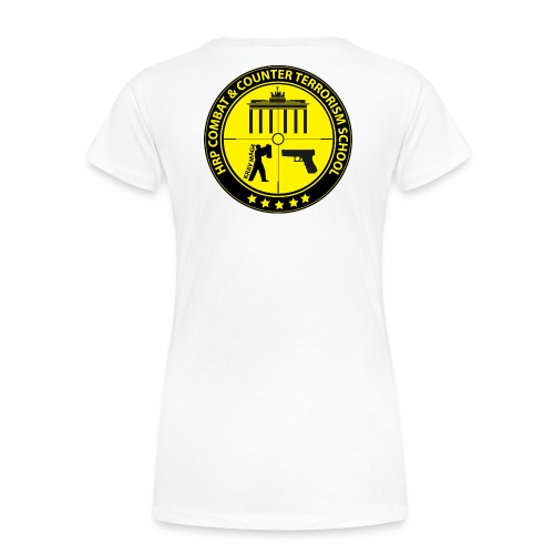 HRP Combat School Logo - Frauen Premium T-Shirt