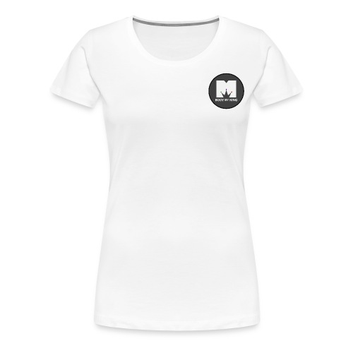 BodyByKing Banner - Women's Premium T-Shirt