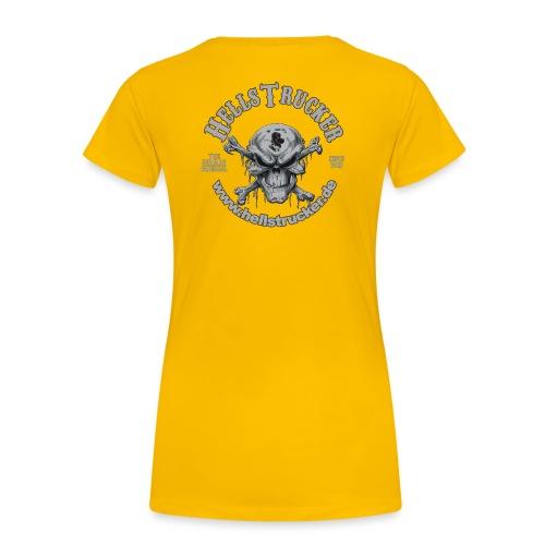 HellsTruckerLogo - Frauen Premium T-Shirt