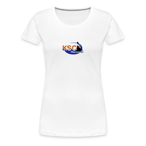 3farb pfade klein - Frauen Premium T-Shirt