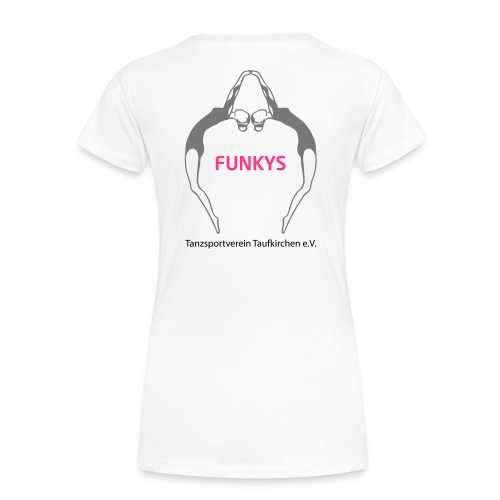 Funky Logo - Frauen Premium T-Shirt