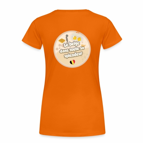 logo Le belge - T-shirt Premium Femme