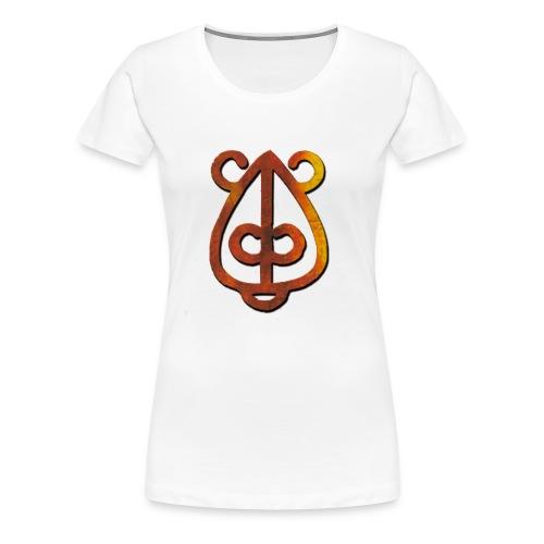Logo Falling 01 - T-shirt Premium Femme