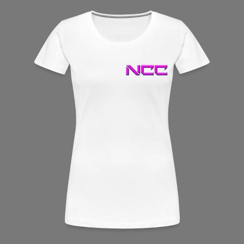 Logo-tshirt-avant-fille - T-shirt Premium Femme