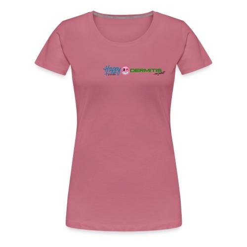 HAPPYdermitis V3.0 - Frauen Premium T-Shirt