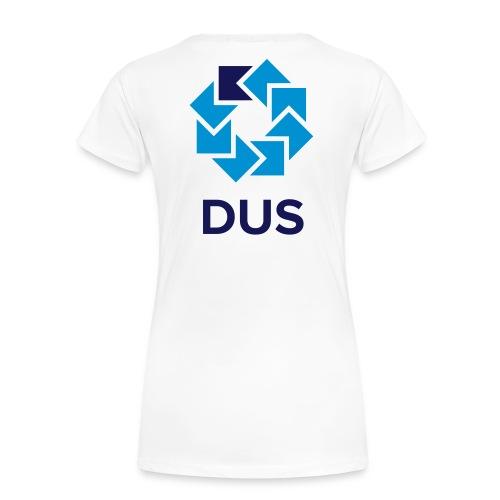 Kotlin User Group Düsseldorf Logo - No Border - Frauen Premium T-Shirt