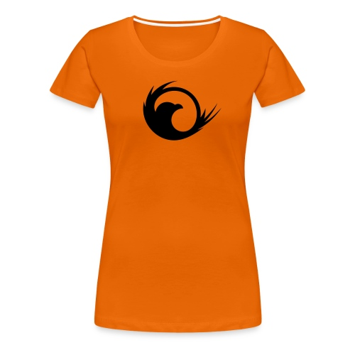 VG Eagle Black Vector - Women's Premium T-Shirt