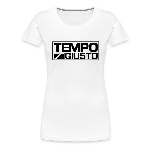 Tempo Giusto Rectangle - Women's Premium T-Shirt