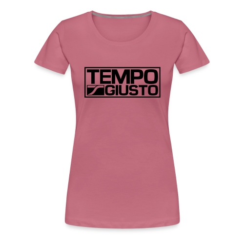 Tempo Giusto Rectangle - Women's Premium T-Shirt