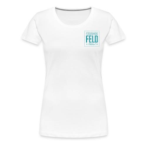 Ferdinands Feld Logo G PN - Frauen Premium T-Shirt