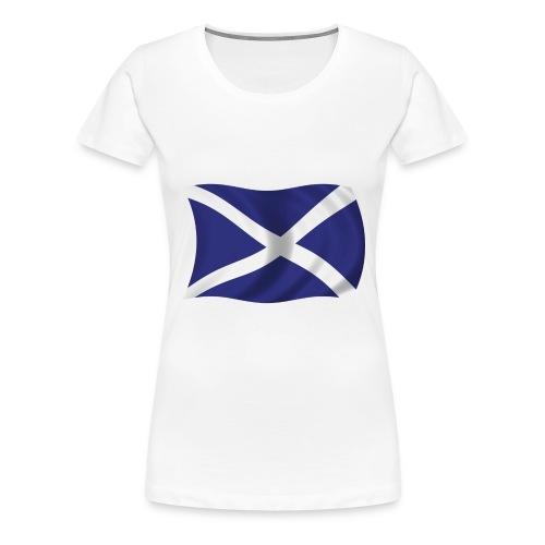 scotlandflag - Women's Premium T-Shirt