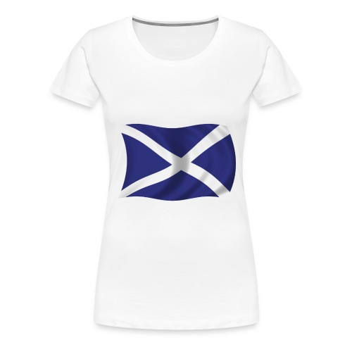 scotlandflag - Women's Premium T-Shirt