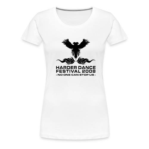 shirtfrontblack - Frauen Premium T-Shirt