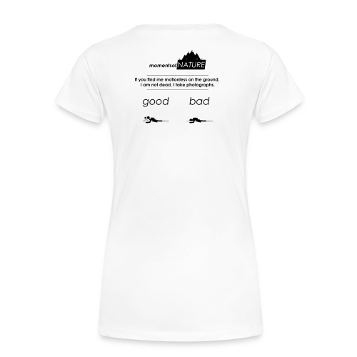 Nature Photographers in the wild - Frauen Premium T-Shirt