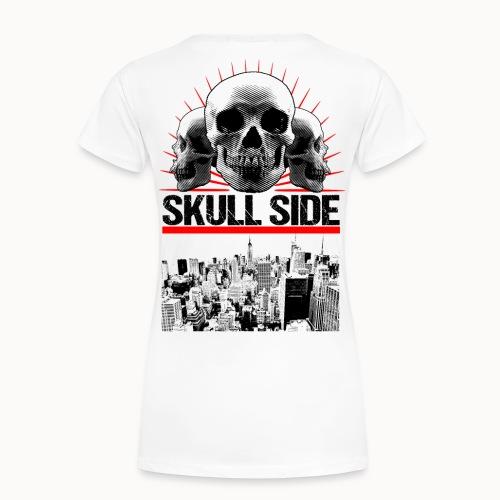 skull side city - Frauen Premium T-Shirt