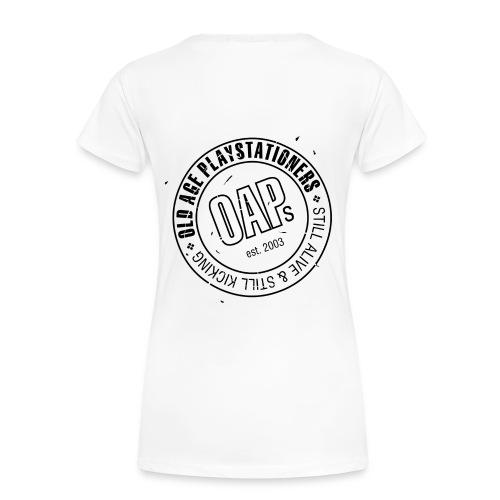 oaplogooriginallargevecblk - Women's Premium T-Shirt