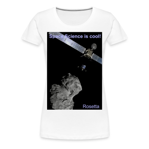 SpaceScienceisCool_Rosett - Frauen Premium T-Shirt