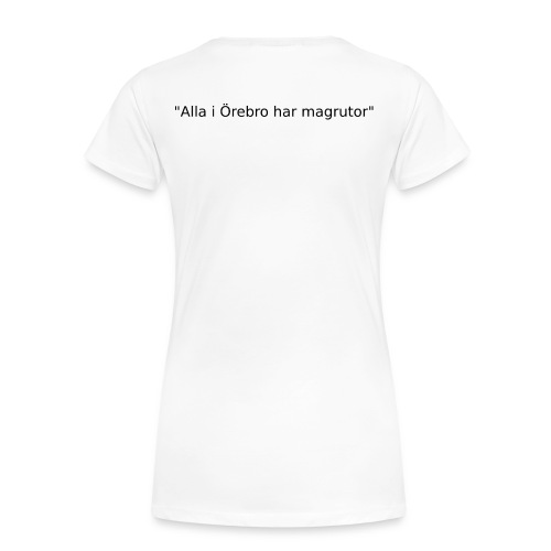 Ju jutsu kai förslag 2 version 1 svart text - Premium-T-shirt dam