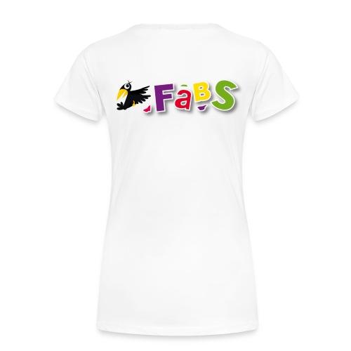 fabslogo trans - Frauen Premium T-Shirt
