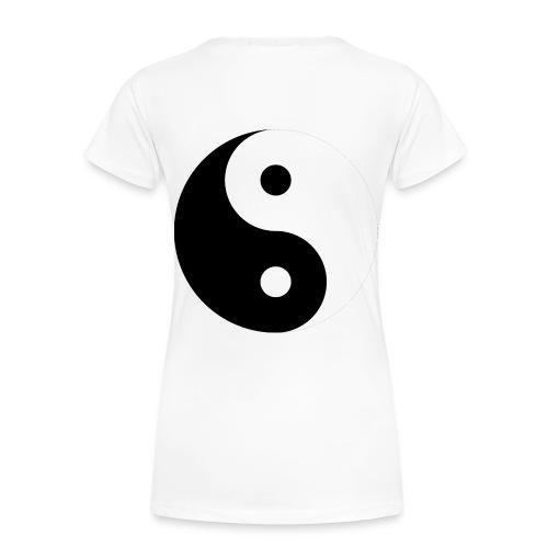 yin & yang - Dame premium T-shirt