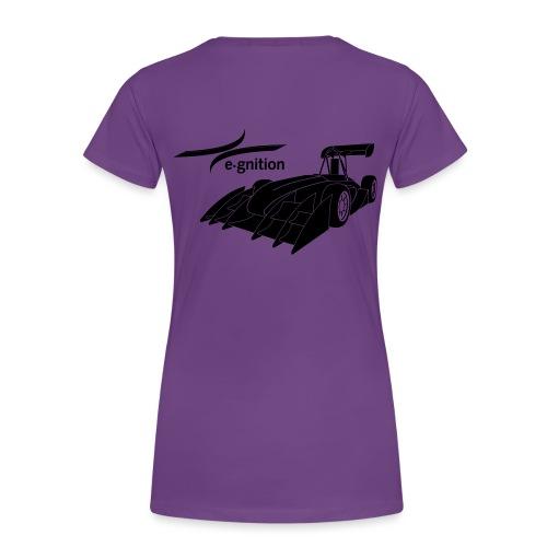 egn Autoschwarz - Frauen Premium T-Shirt