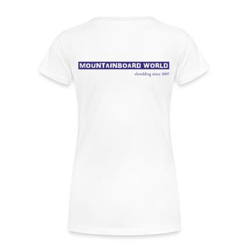 Logo lila - Frauen Premium T-Shirt
