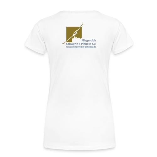 Logo Fliegerclub Schwerin Pinnow (web) - Frauen Premium T-Shirt