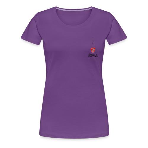 t shirt face - T-shirt Premium Femme