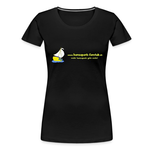 Logo Länglich png - Frauen Premium T-Shirt