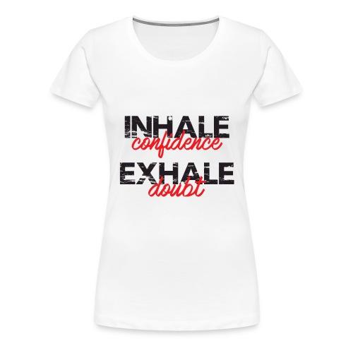 Sports White Vest - Women's Premium T-Shirt