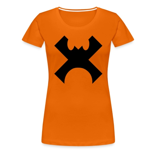 Cross Control Logo - Women's Premium T-Shirt