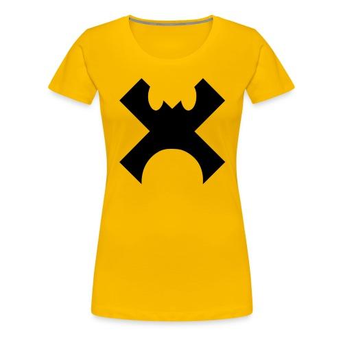 Cross Control Logo - Women's Premium T-Shirt