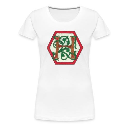 stor_h - Premium T-skjorte for kvinner