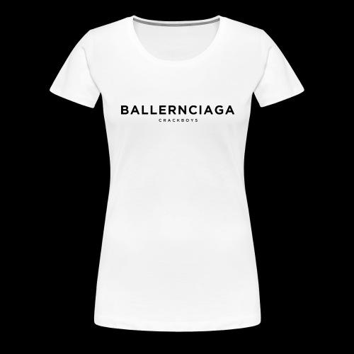 ballernciaga cb b png - Frauen Premium T-Shirt