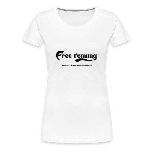 frstshirtfront white - Premium-T-shirt dam