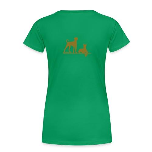 dobberit - Naisten premium t-paita