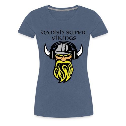 Slogan.png Sportsbeklædning - Dame premium T-shirt