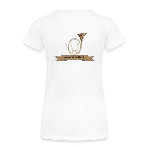 sonneurs de Bercé - T-shirt Premium Femme