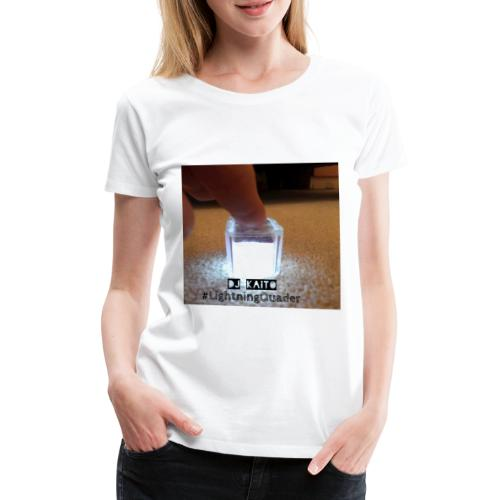 lightning quader cover - Women's Premium T-Shirt