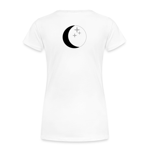 Moon and stars - Frauen Premium T-Shirt