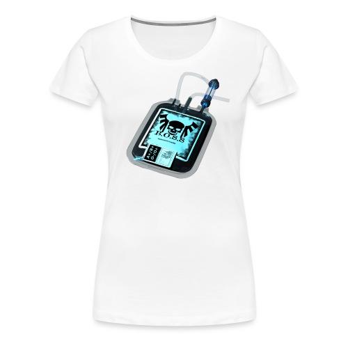 Plasma noir - T-shirt Premium Femme