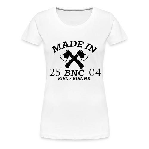 Made in BNC Logo - Frauen Premium T-Shirt