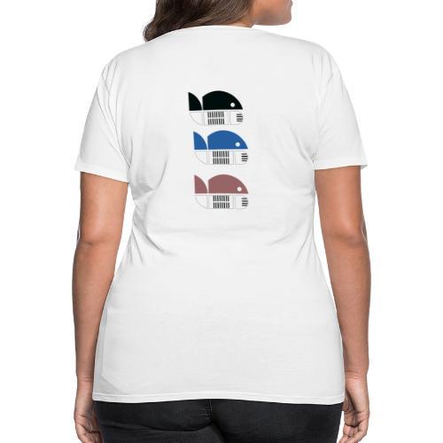 Dräi Fësch - Women's Premium T-Shirt